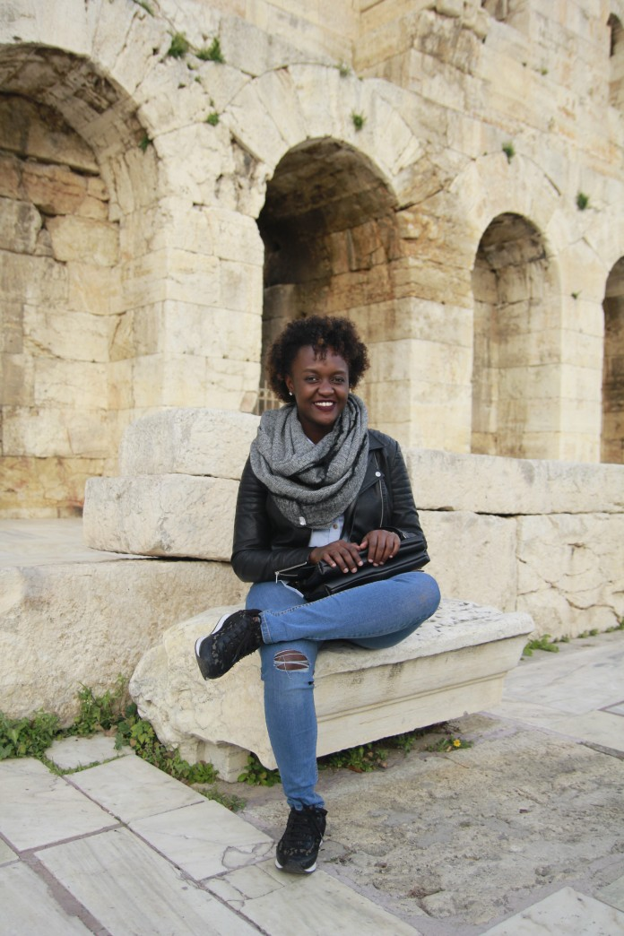 Africans in Greece, African Travel Blogger, Ugandan Travelers, Acropolis