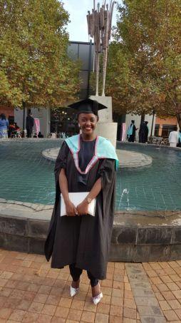 Emily Graduation  Monash South Africa Blog